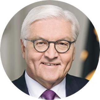 Foto für die Referenz Bundespräsident: Abgebildet ist der Bundespräsident Deutschlands im Jahre 2020, Frank-Walter Steinmeier.
