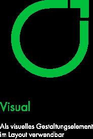 Felix1 Icons als Schmuckelemente/Orientierungshilfe: Zu sehen ist ein grünes Blatt.