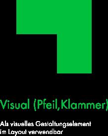 Felix1 Icons als Schmuckelemente/Orientierungshilfe: Zu sehen ist eine grüne Kante.