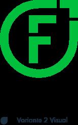 Felix1 Logovariante 1 ohne Claim in der Hausfarbe Grün.